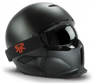 Matte-Black-RG-1-Core-Ski-and-Snowboard-Helmet-With-HG-1-Anti-fog-Goggles
